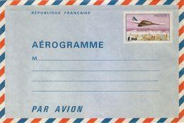 Entier Postal 1005 -AER 1.90 Type Aérogramme Avion Concorde Neuf - Ganzsachen
