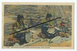 CPA - Hopi Basket Weavers,Grand Canyon National Park Arizona - Etats-Unis