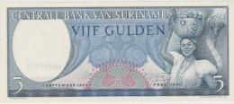 SURINAM   BANKNOTE    VF++   Ref  645 - Surinam
