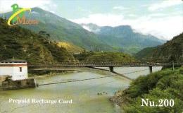 *BHUTAN* - Scheda Usata - Bhutan