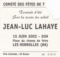 JEAN LUC LAHAYE 2002