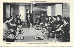 JAPON  I - Missions Salésiennes - Danse Et Chants Pendant Le Repas - Non Classés