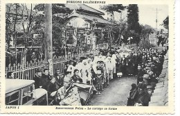 JAPON  I - Missions Salésiennes - Enterrement Païen - Le Cortège Se Forme - Non Classés