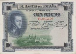 ESPAGNE    BANKNOTE    VF++   Ref  648 - España