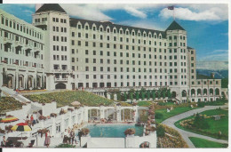 CHATEAU LAKE LOUISE AND SWIMMING POOL BANFF NATIONAL PARK CPA BE CARTE NEUVE - Lac Louise