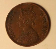 @Y@      British India  , 1862 1/4  Anna     (2878) - Inde