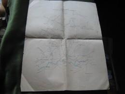 Croquis Del Campo De La Batalla De El Kazar-Quebir - Mapas Geográficas