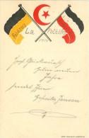 Patriotics Feldzug Frankreich 1914 Feldposten - Heimat