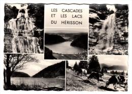 39 - Les Cascades Et Les Lacs Du Hérisson - Multi-vues - Editeur: Protet - France