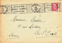 GOLF, FRANCE, 1951, Machine Slogan Cancellation !! - Golf