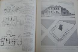 CONSTRUCTION MODERNE 1886N°45:PETIT LYCEE DE LAVAL ARCHITECTE M.RIDEL /RESTAURATION CHATEAU DE GUZOW(POLOGNE)M.MAYER - Magazines - Before 1900