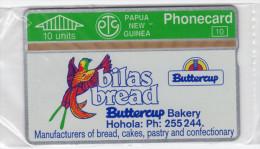 PAPOUASIE NOUVELLE-GUINEE TELECARTE 10U  MV Cards PNG-09b  BILAS BREAD  Perroquet CN 311D MINT - Papua New Guinea