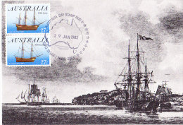 Australia 1983 Australia Day  Maxi Card - Maximum Cards