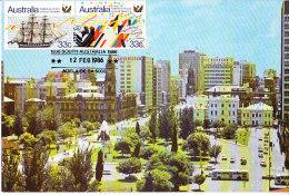 Australia 1986 - 150th Anniversary Of South Australia  Maxi Card - Maximum Cards