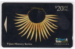 FIDJI TELECARTE  MV Cards FIJ-028 NECKLACE CN 06FJE - Fidji