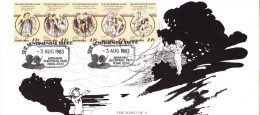 Australia 1983 Sentimental Bloke  LARGE Maxi Card - Maximum Cards