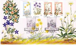Australia 1986 Alpine Wildflowers (Pink) LARGE Maxi Card - Maximum Cards