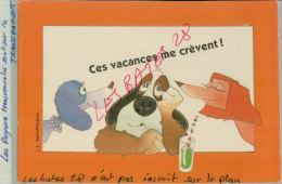 CPA Fantaisies Humour Dessinateur  J. C. Rousseau    Jes Vacances Me Crèvent!   AVR 2015 009 - Ilustradores & Fotógrafos