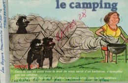 CPA Fantaisies Humour Dessinateur  LE CAMPING  Attention Au Feu   REGLE N°1  AVR 2015 071 - Künstlerkarten