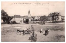 Saint-Varent - Vue Générale Prise Au Sud ( Avec Verso ) - France