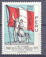 1971. Peru,  Revolution, Mich. 830, 1v, Mint/** - Peru