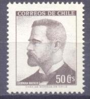 1966. Chile, Person, Mich. 649, 1v, Mint/** - Chile