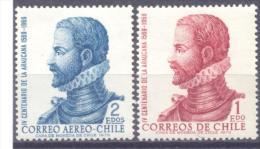 1972. Chile, Person, Mich. 767/68, 2v, Mint/** - Chile