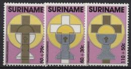 Surinam 1261/1263 postfrisch Ostern