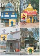 Portugal 1985 Mail Post Box Maximum Cards X4 - Cartoline Maximum