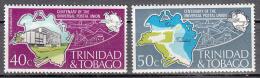 Trinidad And Tobago   Scott No   243-44    Mnh    Year  1974 - Trinidad & Tobago (1962-...)