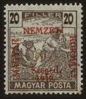 Hungary Scott #N34, 1919, Hinged - Szeged