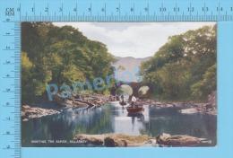 Ireland ( Killarney Shooting The Rapids ) Vintage Postcard By Valentine No 19551 -  )recto/Verso - Kerry