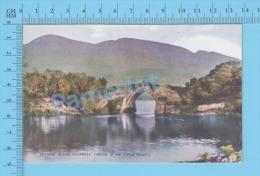 Killarney Ireland (  Bridge Of The Little Trout, Brickeen Bridge ) Vintage Postcard By Valentine No 19247 )recto/Verso - Kerry