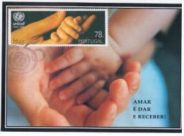 Portugal 1996 UNICEF - Cartoline Maximum