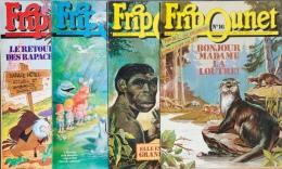 Fripounet - Magazine Hebdomadaire De 1988 - Lot De 4 N° (16- 21 - 31 - 34) - Fripounet