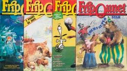 Fripounet - Magazine Hebdomadaire De 1988 - Lot De 4 N° (35 - 36 - 42 - 44) - Fripounet