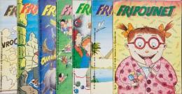 Fripounet - Magazine Hebdomadaire De 1985-1986 - Lot De 7 N° (42- 45 - 46 - 47 - 48 - 50 - 52) - Fripounet
