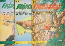 Fripounet - Magazine Hebdomadaire De 1987 - Lot De 3 N° (8 - 9 - 10) - Fripounet