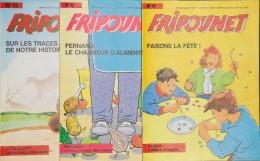 Fripounet - Magazine Hebdomadaire De 1987 - Lot De 3 N° (11 - 12 - 13) - Fripounet