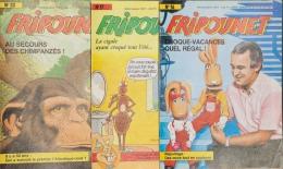 Fripounet - Magazine Hebdomadaire De 1987 - Lot De 3 N° (16 - 17 - 20) - Fripounet
