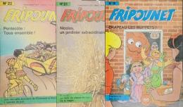 Fripounet - Magazine Hebdomadaire De 1987 - Lot De 3 N° (19 - 21 - 22) - Fripounet