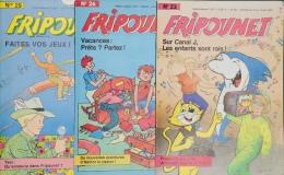 Fripounet - Magazine Hebdomadaire De 1987 - Lot De 3 N° (23 - 26 - 29) - Fripounet