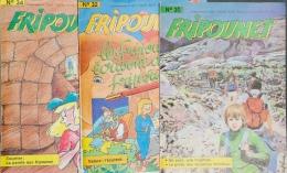 Fripounet - Magazine Hebdomadaire De 1987 - Lot De 3 N° (30 - 32 - 34) - Fripounet