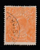 1923 1/2 Orange VFU Sg 56