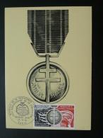 Carte Maximum Card Médaille De La Libération Ref 46731 - Guerre Mondiale (Seconde)
