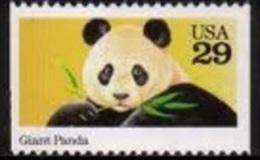 Sc#2706 1992 USA Wild Animal Stamp Giant Panda - Childhood & Youth