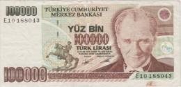 TURQUIE   BANKNOTE    F   Ref  662 - Turkey