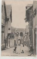 Cpa Animée DINAN (22) Rue De Jerzual - Avt 1903- - Dinan