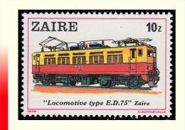 Zaire 1000**  10z  Locomotive   MNH - 1980-89: Neufs