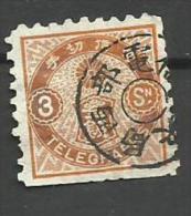 Japon Télégraphe N°3  Côte 6 Euros - Francobolli Per Telegrafo